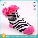 Custom 100% Cotton Knitted Hosiery Fabric Hot Sale Funny Textiles Soft Novelty Newborn Baby design Socks wholesale