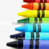 Environmental Eco-Friendly Stationary Medium Wax Crayons Set with Color Box