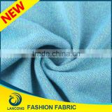 Shaoxing supplier New Design High Quality cvc for pyjamas fabric foritaly cashmere sweater wholesale