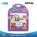 ARTKAL fuse beads 450 beads/box AE101 intelligent diy kit key chain or cellphone accessory kit