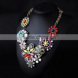 2016 hot sale latest design beads necklace,statement necklace,necklace jewelries in high quality