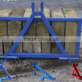 Mild steel welded 3 point linkage frame / tractor weight frame