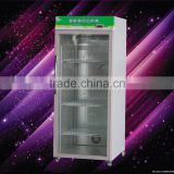 4 Shelving hot drink showacse/food hot display cabinet