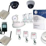 Wireless GSM Alarm Systems with SMS and MMS Functions, Support SD Card to Update Software
