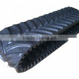 Skid steer rubber track/Snow vehicle rubber track