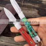 pakistan bowie knife for damascus dagger of antique daggers