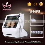 Face Lifting Facial Lifting HIFU Machine/Slimming Deep Wrinkles HIFU Machine/Desktop HIFU Machine Bags Under The Eyes Removal