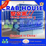 Three-dimensional indoor recirculating aquaculture Soft Shell crayfish breed boxes crab boxex crab apartment Crab House