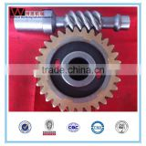 Customized oem spur ring worm bevel gear made by WhachineBrothers ltd.