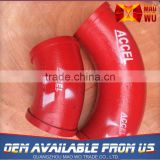 Long Service Life Preferential Price Custom Print Hdpe Pipe Fittings Bend 90 Degree Elbow