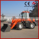 Compact wheel loader ZL20F 4 wheel drive tractor with front loader/small 4 wheel drive tractors