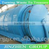 continuous waste plastic and tires pyrolysis machine with 50% high oil output CE certificate