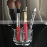 cy270 Plum Flower Transparent Cosmetic Organizer Storage Rack Acrylic Holder Box Lipstick Brush Makeup Shelf Accessories