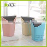 Top Selling Mini Desktop covered trash debris storage clean bucket / Garbage Trash Cans with Lid Best for Office