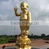 High quality home decor metal crafts bronze baby buddha statue