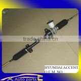 auto parts for hyundai, korean hyundai spare parts steering rack for ACCENT/EXCEL/VERNA/GIRO 56500-24110 56510-22000