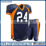 Custom american football jersey, sublimation american football uniform youth american football jersey wholesale
