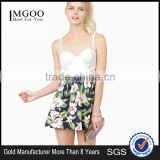 MGOO Top Sale Custom OEM Design Floral Mini Young Girl Skirt Pleated High Waist Gothic Clothing 15144B636