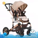 Wholesale baby products 5- point safety buckle multifunctional prams china baby stroller manufacturer
