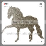 Shiny DIY Decration Animal Horse Hot Selling Handcraft Glitter Cardstock Paper Holiday Supplies