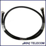 1/2 In Superflex RF Cable Assembly With DIN Male Connectors On Both Sides