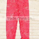 high quality best price wholesale girls tight Legging lace ruffle pants Baby kids ruffle pants
