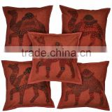 Rajasthani Handmade Camel Cushion Cover For Women