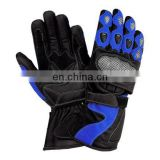 Long Motorbike Leather Gloves