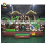 2017 Aier funny style Attractive outdoor inflatable bouncer/inflatable trampoline/inflatable slide for kids