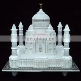 Valentine Gift Marble Stone Taj Mahal Replica Hadcrafted