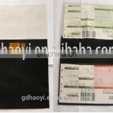 Cheap Plastic PVC Ticket Jackets/ Holder, Passport holder
