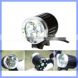 Waterproof IP65 XML-T6 LED Bicycle Light With 3600Lumens Bike Front Light