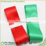 Red green Ribbon for Christmas Giftwrap Decoration