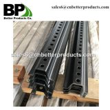 Perforated steel u channel sign posts