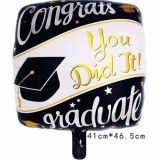Graduation balloon foil balloon helium balloon mylar balloon party balloon decoration balloon
