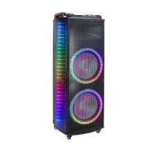 Hot Sale New Design Dual Woofer Flame Speaker BK-171B