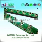 Multilayer OEM printed circuit/one stop pcb service with Piano Keyboard PCB assembly