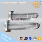 WH Best Quality 28kw Water Cooler For Welding Machine, U Tube Bundle Heat Exchanger