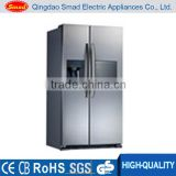 commercial side by side refrigerator freezer with icemaker,water dispenser & mini bar                                                                                                         Supplier's Choice