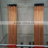 DC Copper Coated Blasting Gouging Carbon Rods / Gouging Electrode