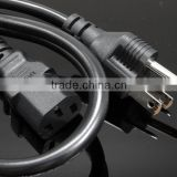 Well-received More Practical US 3pin Plug Power Cord/PVC power cord/3 pin us flat ac power cord