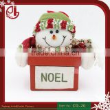 Noel Lovely Snowman Style Bottle Holders Gift Bags Christmas Festival Supplies Candy Box