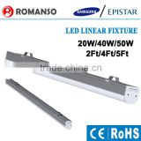 Newest Dimmable 600mm led linear trunking system with 3 years warranty