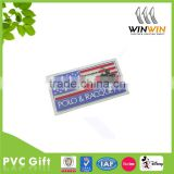 Non-phthalate rubber garment patch/silicone label/pvc badge