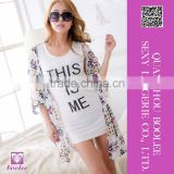 Hot Sale Sexy Women's Chiffon kaftan Bikini Cover up Beach Dress
