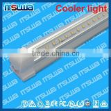 v shape 4 foot LED linear tube, emergency luminaire pack available, Extreme Bright, walking cooler light