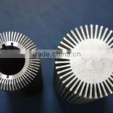 High quality natural anodized extruded aluminum heat sink tube (round heat sink, aluminum heat sink)