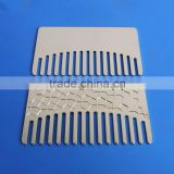 customized metal silver lice comb