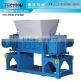 Double Shaft Plastic Shredder Machinery