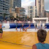 2015 big discount inflatable water football pitch / indoor football field for sale